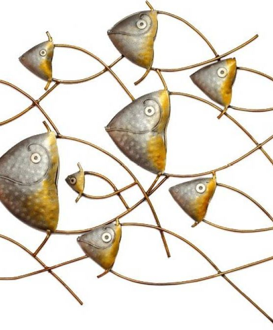 singhal exports magical fish wall decor