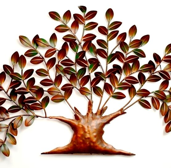 W- Nano Tree Metal Wall Decor - Singhal Exports Jodhpur - Buy Online ...