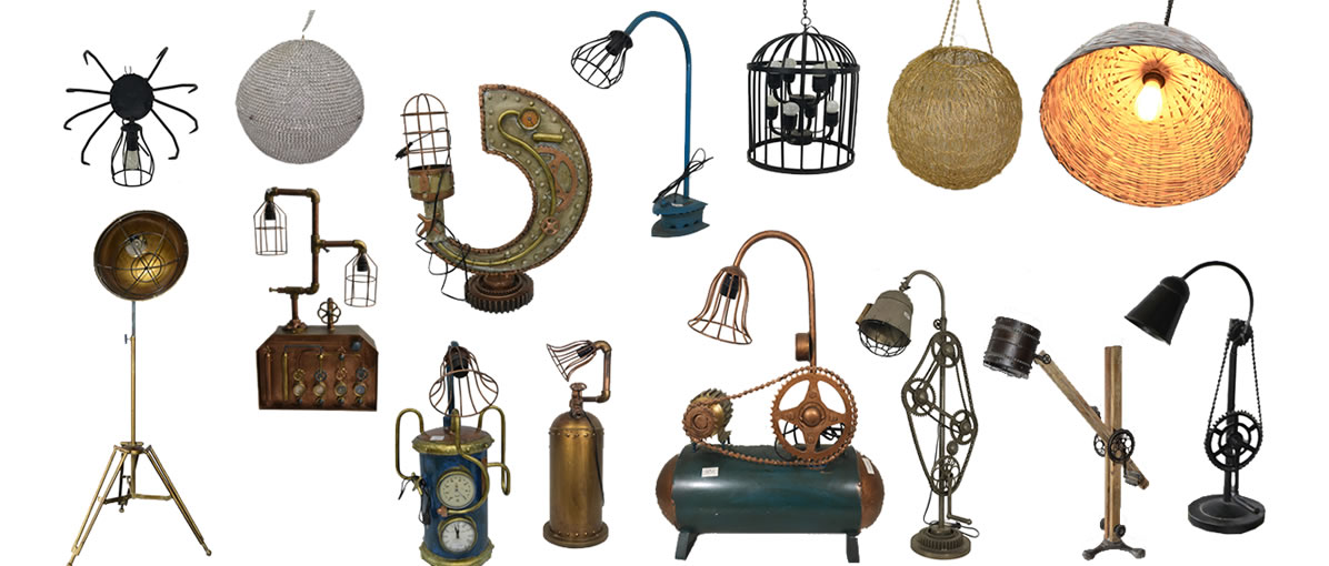 One Of A Kind Lamps!  Click To Light Up Your Room With Style....