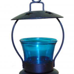 Muradabad style Tea Light Candle Holder- set of 5 (Assorted colors)