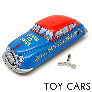 Vintage Tin Toy Car