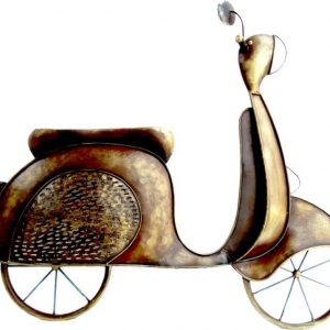 Singhal Exports Papa's Scooter Wall Panel
